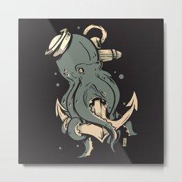 Dark Seas Metal Print