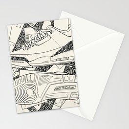 AJ 3 Tinker Newspaper Stationery Cards