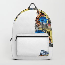Tiger Drapes // Printed Muscles Backpack