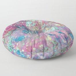 Prismatic Ocean of Light V Floor Pillow