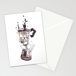 If all else fails, Coffee! Stationery Cards