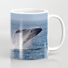 Humpback Breach Coffee Mug