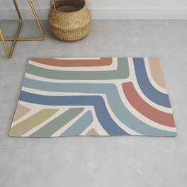 Abstract Stripes II Rug