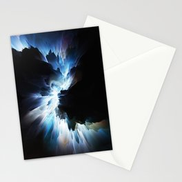 Black Light Modern design abstract art contemporary art Stationery Cards