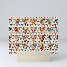 Triangles à Brooklyn Mini Art Print