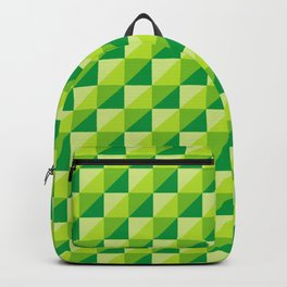 Colorful Square (Green) Backpack
