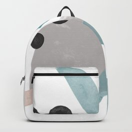 Abstract Graphic Illustrations | Shapes II Backpack