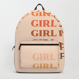 Girl Power // in Earthy Shades Backpack