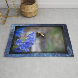 Rustic Bumble Blue Rug