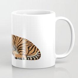 Volleyball Tiger Coffee Mug