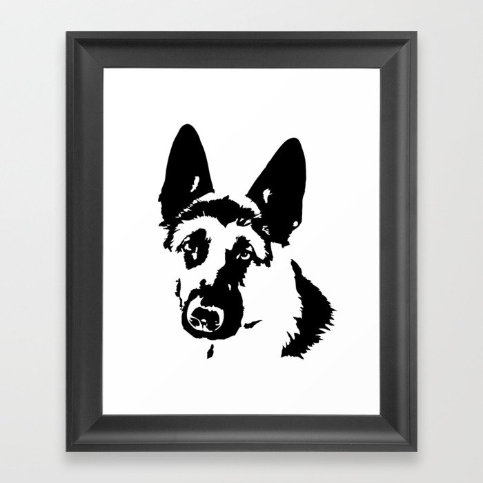 German Shepherd Dog Gifts Framed Art