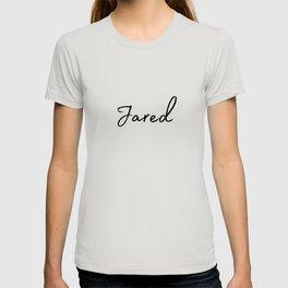 Jared Calligraphy T-shirt