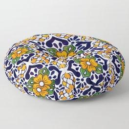 talavera mexican tile_4 Floor Pillow