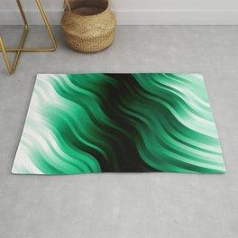 stripes wave pattern 7v2 magi Rug