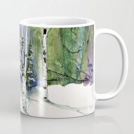 4 Season Watercolor Collection - Winter Coffee Mug
