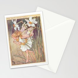 """""""The Narcissus Fairy"""" by Cicely Mary Barker 1920 Stationery Cards"""