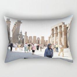 Temple of Luxor, no. 27 Rectangular Pillow