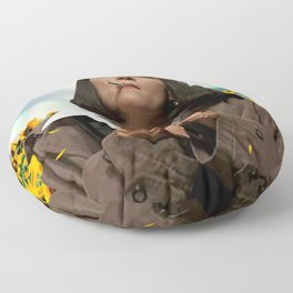 Someplace Else Floor Pillow