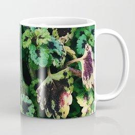 Green Leaf Flowers Coffee Mug