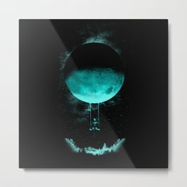 BOY MOON Metal Print