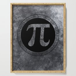 Pi Irrational Number Serving Tray