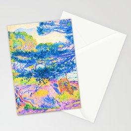 Henri Edmond Cross -Kap Layet - Digital Remastered Edition Stationery Cards