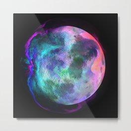 Fantasy rainbow planet Metal Print