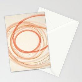 Valencia - Minimal Abstract Line Art Stationery Cards