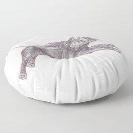 BALLPEN ELEPHANT 7 Floor Pillow