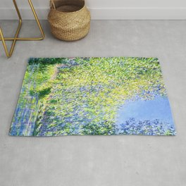 Monet: Bend in the River Epte Rug