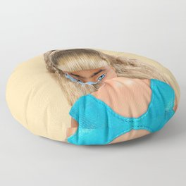 Quarantine Doll Floor Pillow