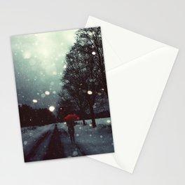 Dark Winter Stationery Cards
