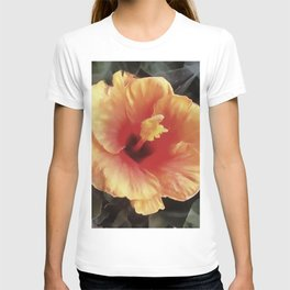 Chinese Rose Flower T-shirt
