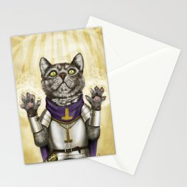 Cleric Cat Stationery Cards