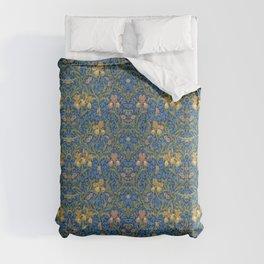 William Morris Flowers Comforters