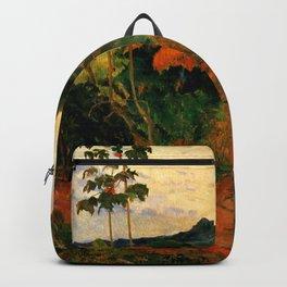"Paul Gauguin ""Martinique Landscape (Tropical Vegetation)"" Backpack"