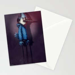 Mordecai from Regular Show Stationery Cards