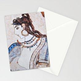 Mistress of the Animals - Akrotiri Stationery Cards