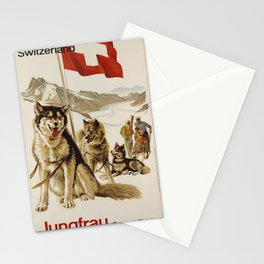 oude Jungfrau Stationery Cards