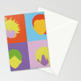 The promised neverland pop art Stationery Cards