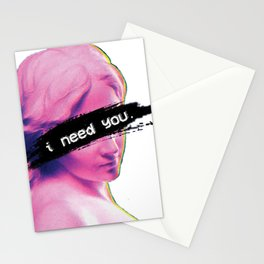 Statue Aesthetic Stationery Cards