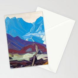 Nicholas Roerich - From Beyond - Digital Remastered Edition Stationery Cards
