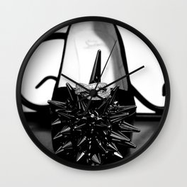 Dye your life with richly color Wall Clock