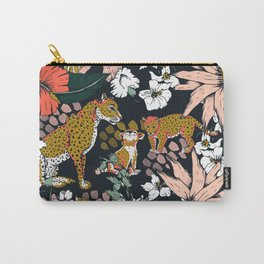 Animal print dark jungle Tasche