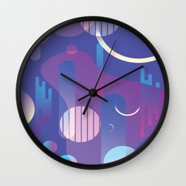 Retro Vibe Wall Clock