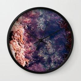 Peaceful Tidepools Wall Clock