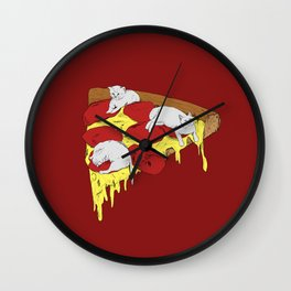 Love Triangle Wall Clock