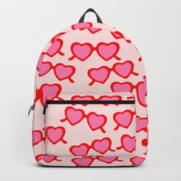 Heart Shaped Glasses Backpack