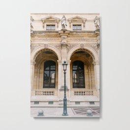 Louvre V Metal Print