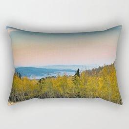 Autumn in the mountain Rectangular Pillow